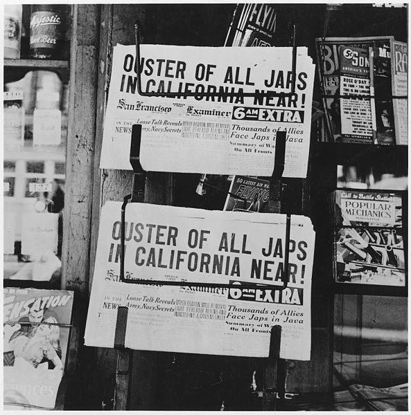 Newspaper_headlines_of_Japanese_Relocation_NARA_195535