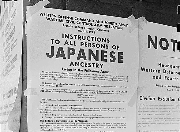 Posted_Japanese_American_Exclusion_Order_NARA
